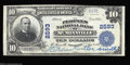 National Bank Notes:Tennessee, McMinnville, TN - $10 1902 Plain Back Fr. 634 The ...