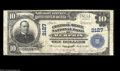 National Bank Notes:Tennessee, Memphis, TN - $10 1902 Plain Back Fr. 630 The Central-...