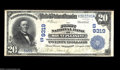 National Bank Notes:Tennessee, Mount Pleasant, TN - $20 1902 Date Back Fr. 644 The ...