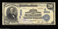 National Bank Notes:Tennessee, Sparta, TN - $20 1902 Plain Back Fr. 652 The First NB ...