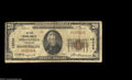 National Bank Notes:Tennessee, Springfield, TN - $20 1929 Ty. 1 The First NB Ch. # ...