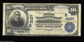 National Bank Notes:Tennessee, Tullahoma, TN - $10 1902 Plain Back Fr. 624 The First NB