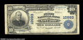 National Bank Notes:Virginia, New Castle, VA - $10 1902 Plain Back Fr. 632 The First ...