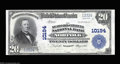 National Bank Notes:Virginia, Norfolk, VA - $20 1902 Plain Back Fr. 654 The Seaboard ...