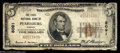 National Bank Notes:Virginia, Pearisburg, VA - $5 1929 Ty. 1 The First NB Ch. # ...