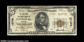 National Bank Notes:Virginia, Petersburg, VA - $5 1929 Ty. 2 The Citizens NB Ch. # ...