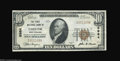 National Bank Notes:West Virginia, Chester, WV - $10 1929 Ty. 1 The First NB Ch. # 6984
