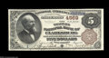 Clarksburg, WV - $5 1882 Brown Back Fr. 472 The Traders NB Ch. # 4569 A simply gorgeous note which has been off the mar...