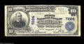 National Bank Notes:Wisconsin, Brillion, WI - $10 1902 Plain Back Fr. 624 The First NB
