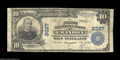 National Bank Notes:Wisconsin, Crandon, WI - $10 1902 Plain Back Fr. 626 The First NB ...