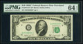Small Size:Federal Reserve Notes, Fr. 2013-D* $10 1950C Federal Reserve Star Note. PMG Choic...