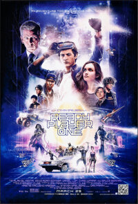 """Ready Player One (Warner Bros., 2018). Rolled, Very Fine+. One Sheet (27"""" X 40"""") DS Advance, Paul Shipper Artw..."""