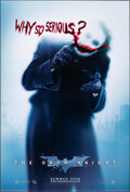 """Movie Posters:Action, The Dark Knight (Warner Bros., 2008). Rolled, Very Fine+. One Sheet (27"""" X 40"""") DS Advance """"Why So Serious?"""" Style. Action...."""