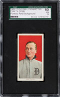 Baseball Cards:Singles (Pre-1930), 1909-11 T206 Old Mill Ty Cobb (Portrait-Red) SGC 60 EX 5....
