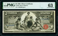 Large Size:Silver Certificates, Fr. 248 $2 1896 Silver Certificate PMG Choice Uncirculated...