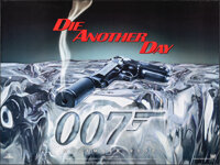 """Die Another Day & Other Lot (MGM, 2002). Rolled, Very Fine. British Quads (2) (30"""" X 40"""") DS Advance. Jame..."""