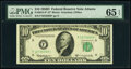 Small Size:Federal Reserve Notes, Fr. 2014-F* $10 1950D Federal Reserve Star Note. PMG Gem U...