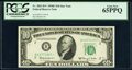 Small Size:Federal Reserve Notes, Fr. 2015-B* $10 1950E Federal Reserve Star Note. PCGS Gem New 65PPQ.. ...