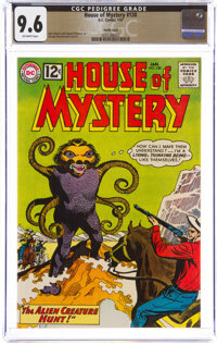 House of Mystery #130 Pacific Coast Pedigree (DC, 1963) CGC NM+ 9.6 Off-white pages