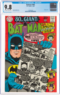 Batman #198 (DC, 1968) CGC NM/MT 9.8 Off-white to white pages