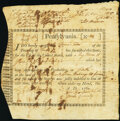 Colonial Notes:Pennsylvania, Pennsylvania Interest Bearing Appraisal Certificate £15 Specie August 18, 1780 Anderson PA-2 Very Fine.. ...
