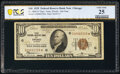 Fr. 1860-G* $10 1929 Federal Reserve Bank Star Note. PCGS Banknote Very Fine 25