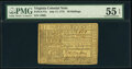 Colonial Notes:Virginia, Virginia July 17, 1775 20s Small Ordinance PMG About Uncirculated 55 EPQ.. ...