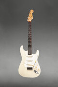 Musical Instruments:Electric Guitars, circa 1960 Fender Stratocaster Blonde Solid Body Electric ...