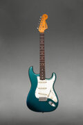Musical Instruments:Electric Guitars, 1966 Fender Stratocaster Lake Placid Blue Solid Body Elect...