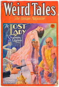 Weird Tales - January 1931 (Popular Fiction) Condition: VG