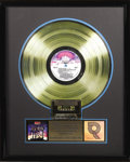 "Music Memorabilia:Awards, Kiss ""Destroyer"" RIAA Gold Album Award. Number 156 in an RIAAlimited edition of the award commemorating the sale of 500,000..."