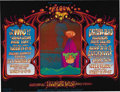 Music Memorabilia:Posters, Who/Grateful Dead Fillmore West Concert Poster, BG-133 (BillGraham, 1968) This double-sized poster is simply crammed with g...