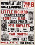 Music Memorabilia:Posters, Little Richard Revue Show Poster (1957) Alright cats, let's swingit back to that fabulous year 1957, for a a great Rock 'n'...