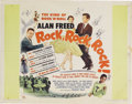 "Music Memorabilia:Posters, Alan Freed Vintage Movie Poster Group. Includes a 14"" x 22"" posterfor Mister Rock and Roll (In Fine to Very Fine condit..."