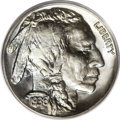 Proof Buffalo Nickels: , 1936 5C Type One--Satin Finish PR68 PCGS. This is a highlyappealing and remarkably attractive Satin Finish proof example t...