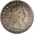 Early Dimes: , 1800 10C AU58 NGC. JR-1, R.4. Both sides of this pleasing near-Mintexample are sharply detailed with considerable luster. ...