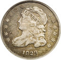 Bust Dimes: , 1829 10C Curl Base 2--Damaged--ANACS. VF20 Details. JR-10, Low R.6.John Reich Collectors Society authors (1984) call this ...