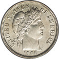Barber Dimes: , 1900-O 10C MS64 PCGS. More than 2 million dimes were struck at theNew Orleans Mint in 1900, but these went directly into c...