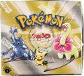Memorabilia:Trading Cards, Pokémon First Edition Neo Genesis Set Sealed Booster Box (Wizards of the Coast, 2000). ...