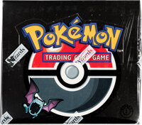 Pokémon First Edition Team Rocket Set Sealed Booster Box (Wizards of the Coast, 2000)
