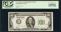 Small Size:Federal Reserve Notes, Fr. 2152-G* $100 1934 Dark Green Seal Federal Reserve Star...