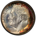 Roosevelt Dimes, 1946 10C MS68 PCGS. PCGS Population: (5/0 and 0/0+). NGC Census: (2/0 and 0/0+). Mintage 255,250,000. ...