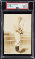 Baseball Collectibles:Photos, Circa 1907 Ty Cobb Original Photograph from The Ty Cobb Collection, PSA/DNA Type 1--Image Used for T206 (Bat Off Shoulder)....