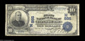 National Bank Notes:Wisconsin, Fond Du Lac, WI - $10 1902 Date Back Fr. 616 The First ...