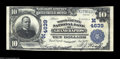 National Bank Notes:Wisconsin, Grand Rapids, WI - $10 1902 Plain Back Fr. 628 The Wood ...