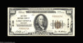 National Bank Notes:Wisconsin, Lake Geneva, WI - $100 1929 Ty. 1 The First NB Ch. # ...