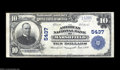 National Bank Notes:Wisconsin, Marshfield, WI - $10 1902 Plain Back Fr. 633 The ...