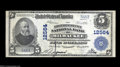 National Bank Notes:Wisconsin, Milwaukee, WI - $5 1902 Plain Back Fr. 609 The ...
