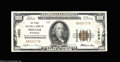 National Bank Notes:Wisconsin, Neenah, WI - $100 1929 Ty. 1 The NB of Neenah Ch. # ...