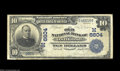 National Bank Notes:Wisconsin, Oshkosh, WI - $10 1902 Date Back Fr. 616 The Old NB Ch....